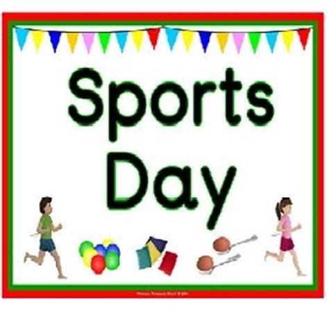 Short Paragraph for kids on sports day in our school